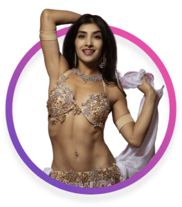 Leilah Isaac belly dance belly fitness