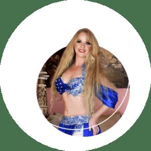Anastasia VanCuren belly dance